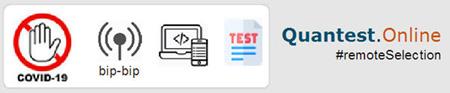 """image schématisant le procédé """"covid-19 free"""" du test QUANTEST"""